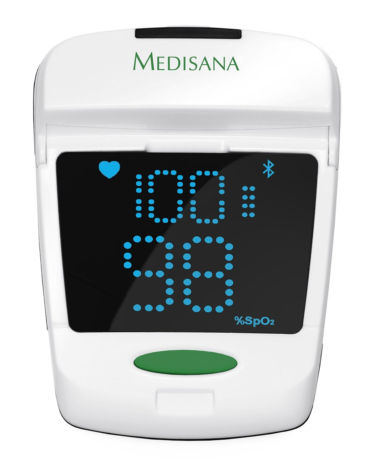Medisana PM 150 Connect - Pulsioxímetro, con función Bluetooth Smart, color blanco y gris: Amazon.es: Salud y cuidado personal