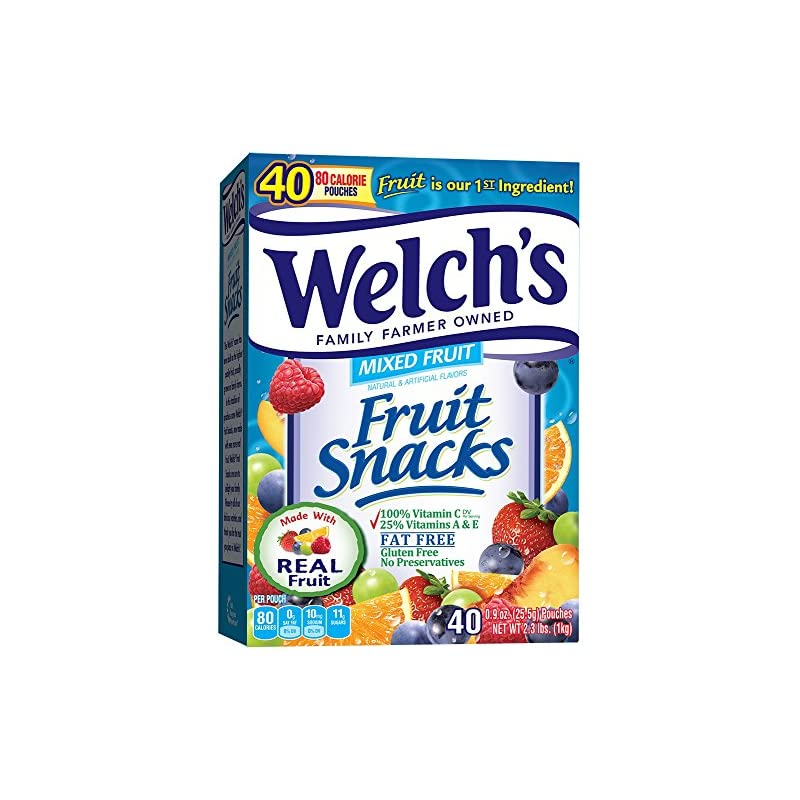 Welch's Mixed Fruit Snacks, 0.9 Ounce (4