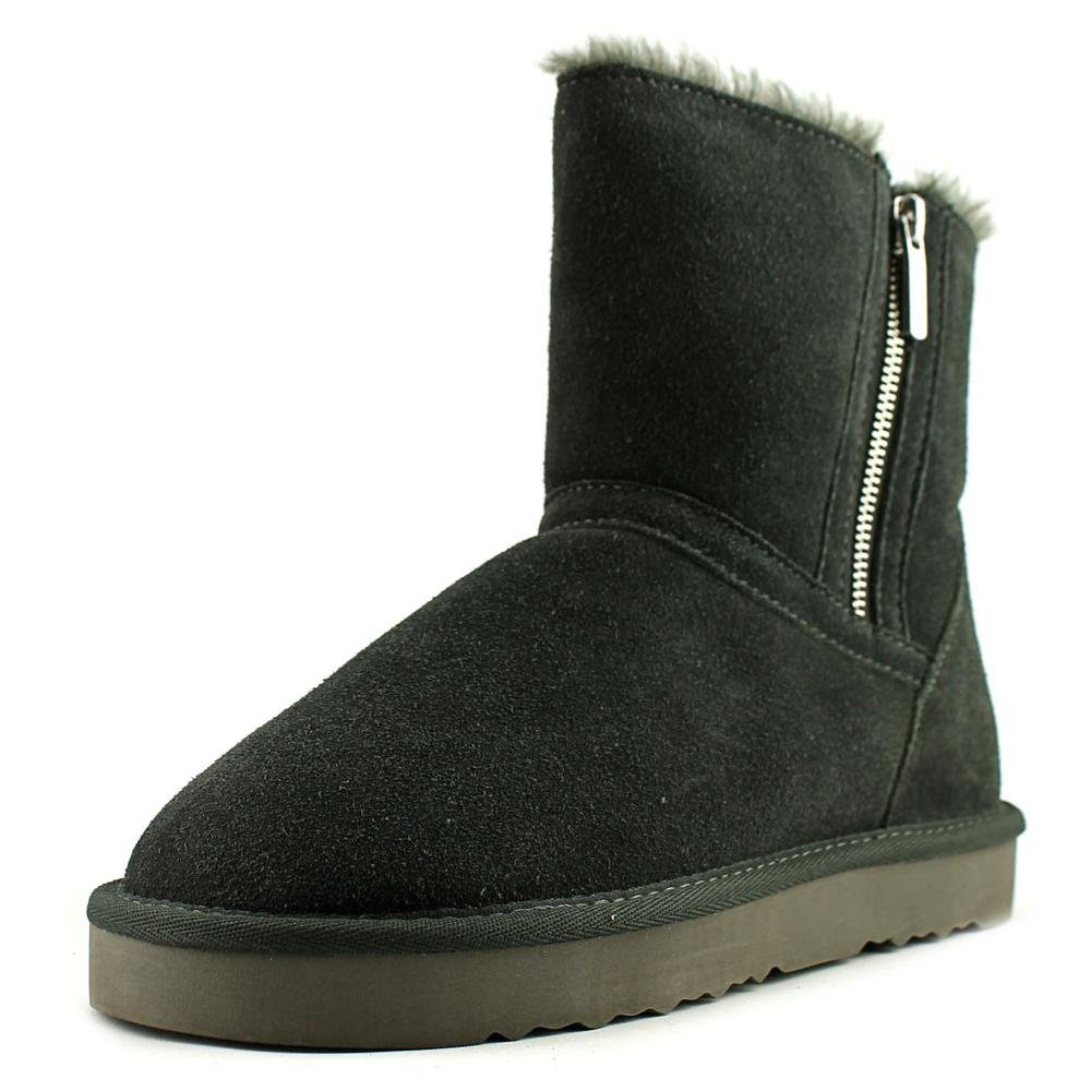 Style & Co. Womens Ciley Suede Closed Toe Ankle Fashion Boots Grey 9 M US