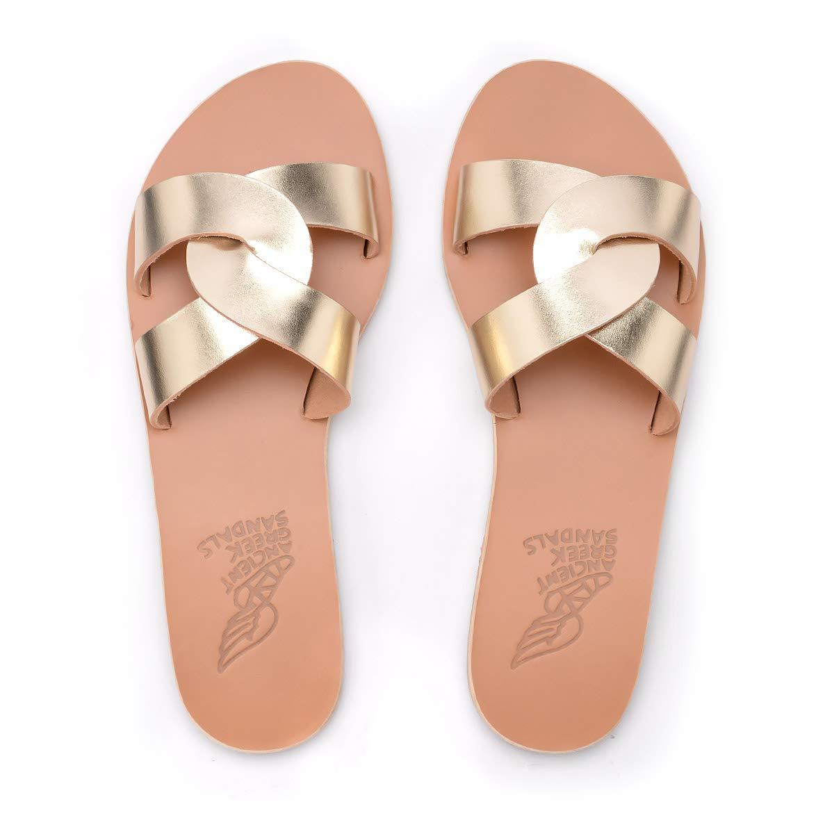 Ancient Greek Sandals Sandalo Desmos in Pelle, Taglia UK UK UK  6b2e51