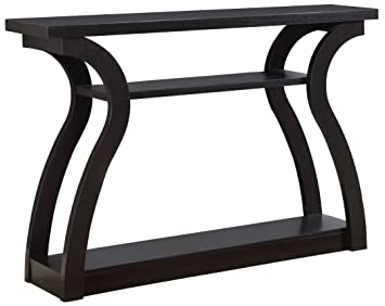 Sensational Monarch Specialties I 2445 Hall Console Accent Table 47 Cappuccino Interior Design Ideas Inesswwsoteloinfo