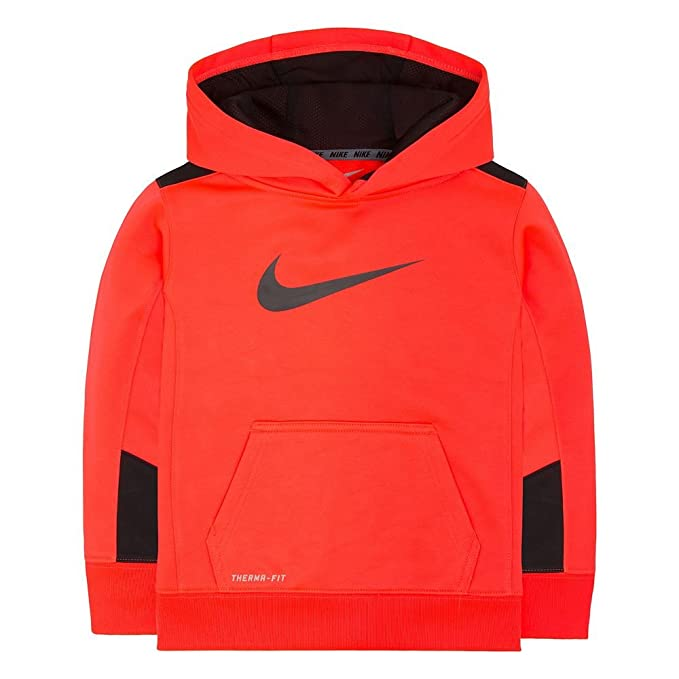 : Boys 4 7 Nike KO 3.0 Therma FIT Hoodie, Bright