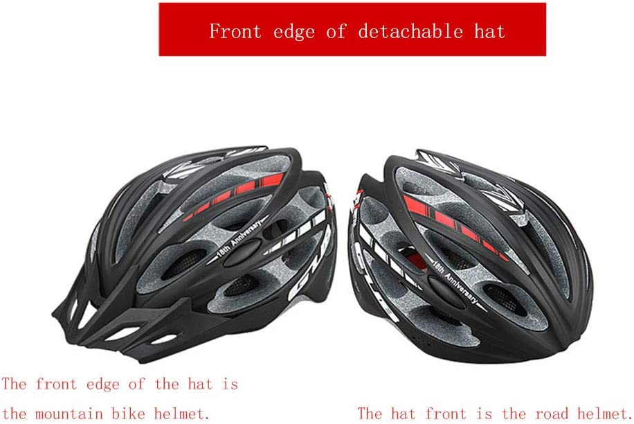 1-1 Erwachsener Fahrrad Helme,Einstellbar Anti-Sturz ABS Sports Schutzausr/üstung F/ür Mountainbike Rollerblading Roller