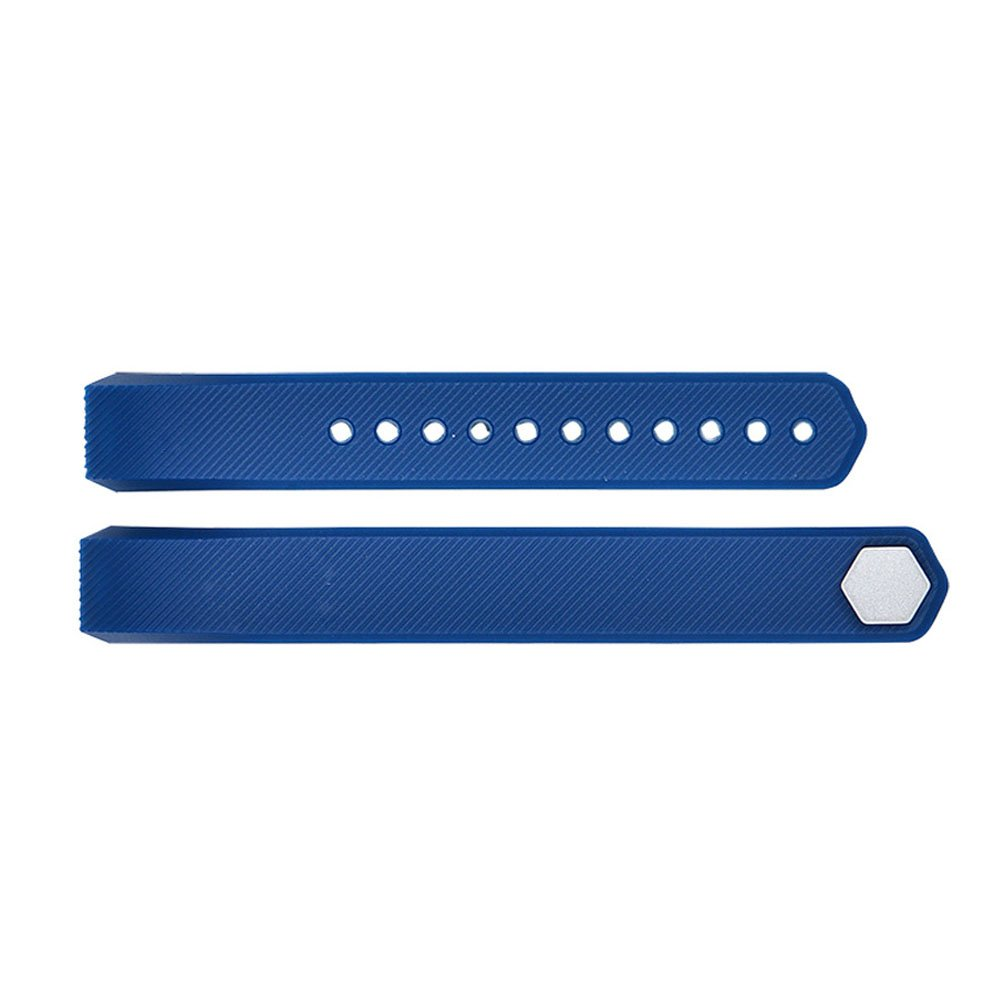 Fitbit Alta Watch Watch Band - TOOGOO(R)Luxury Replacement Silicone Watch Band Strap For Fitbit Alta Watch Wristband Colour:Navy Blue