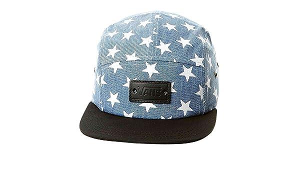 Vans Womens Willa Fashion Hat Washed Denim Blue Stars: Amazon.es ...