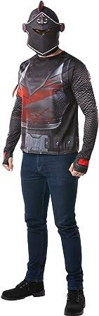 Fortnite - Disfraz camiseta Black Knight para adulto, talla L (Rubies ...