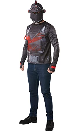 Fortnite - Disfraz camiseta Black Knight para adulto, talla L (Rubies 300191-L)