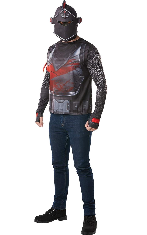Amazon Com Rubie S Fortnite Black Knight Adult Costume Top