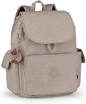 Kipling City Pack L Mochila Grande, 24 litros, Color Warm Grey (Gris): Amazon.es: Equipaje