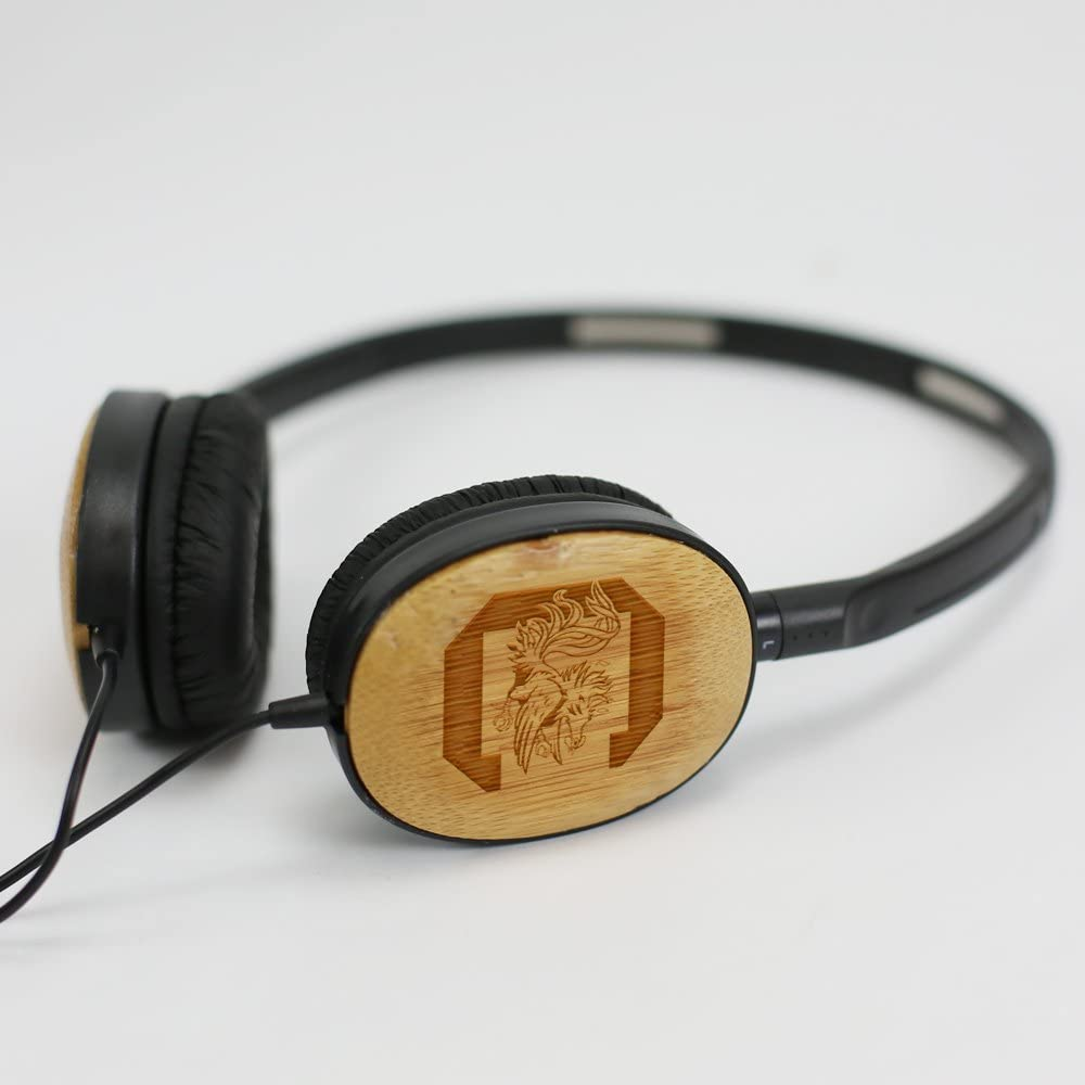 AudioSpice South Carolina Gamecocks Bamboo Headphones