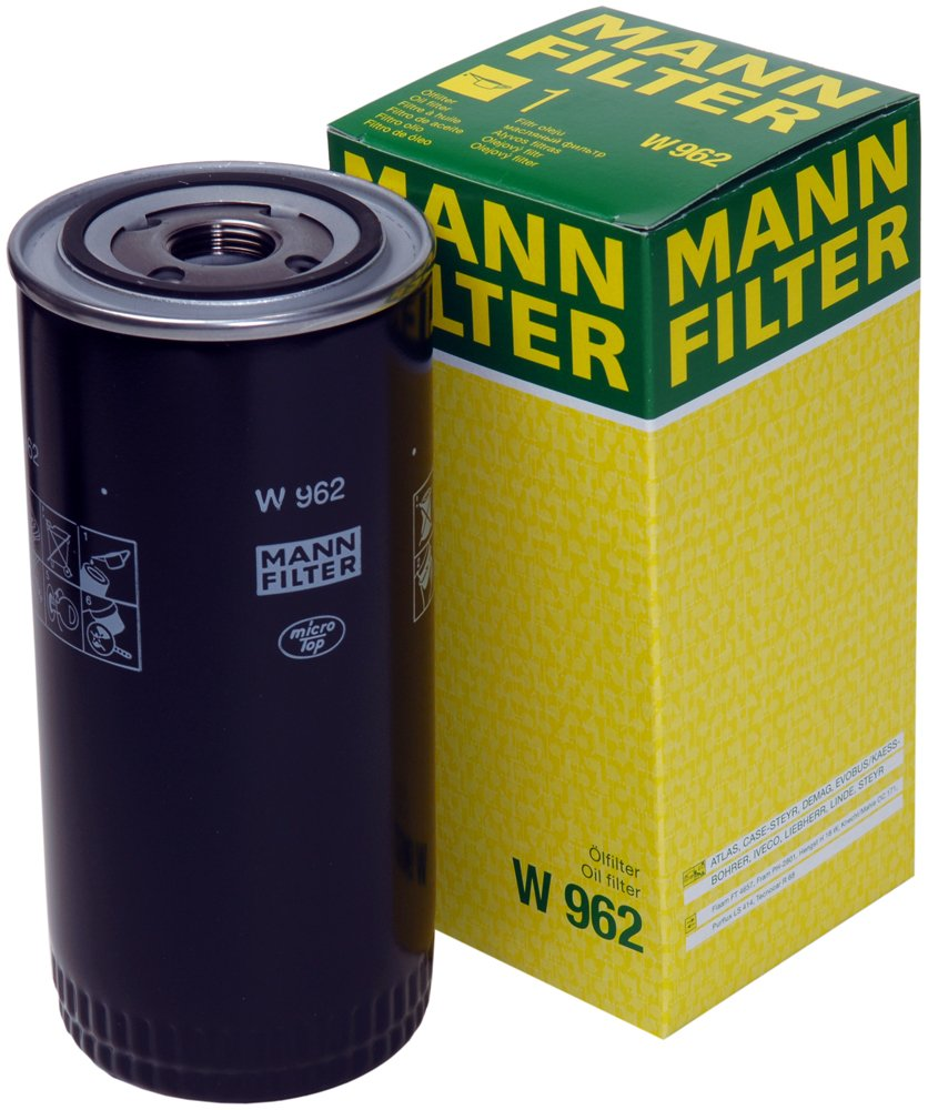 Mann-Filter W 962 Spin-on Oil Filter