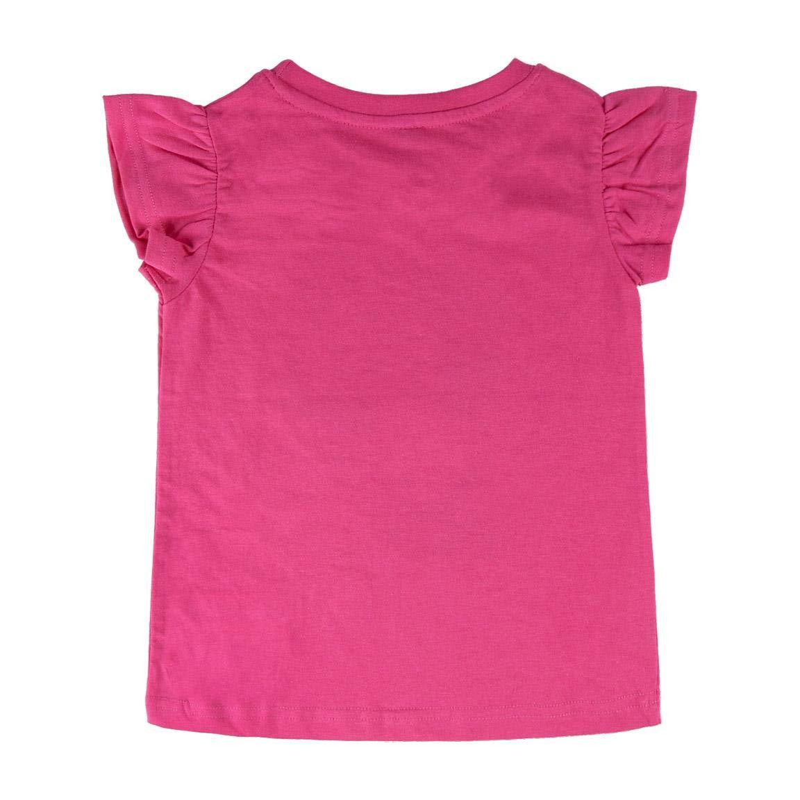 L.O.L Full Print Bambina T-Shirt Premium Maglia Maglietta Maniche Corte Surprise! Prodotto Originale con Licenza Ufficiale 9304-22 Particolari 3D Riportati