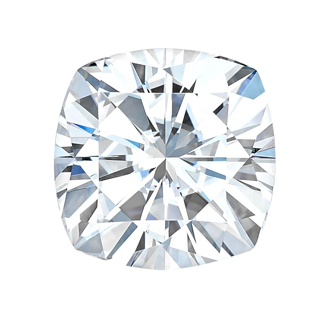 7.5 MM Cushion Cut Forever One® Moissanite by Charles & Colvard 81 Facets - Very Good Cut (1.80ct Actual Weight, 2.00ct Diamond Equivalent Weight) by Forever One® (Image #1)