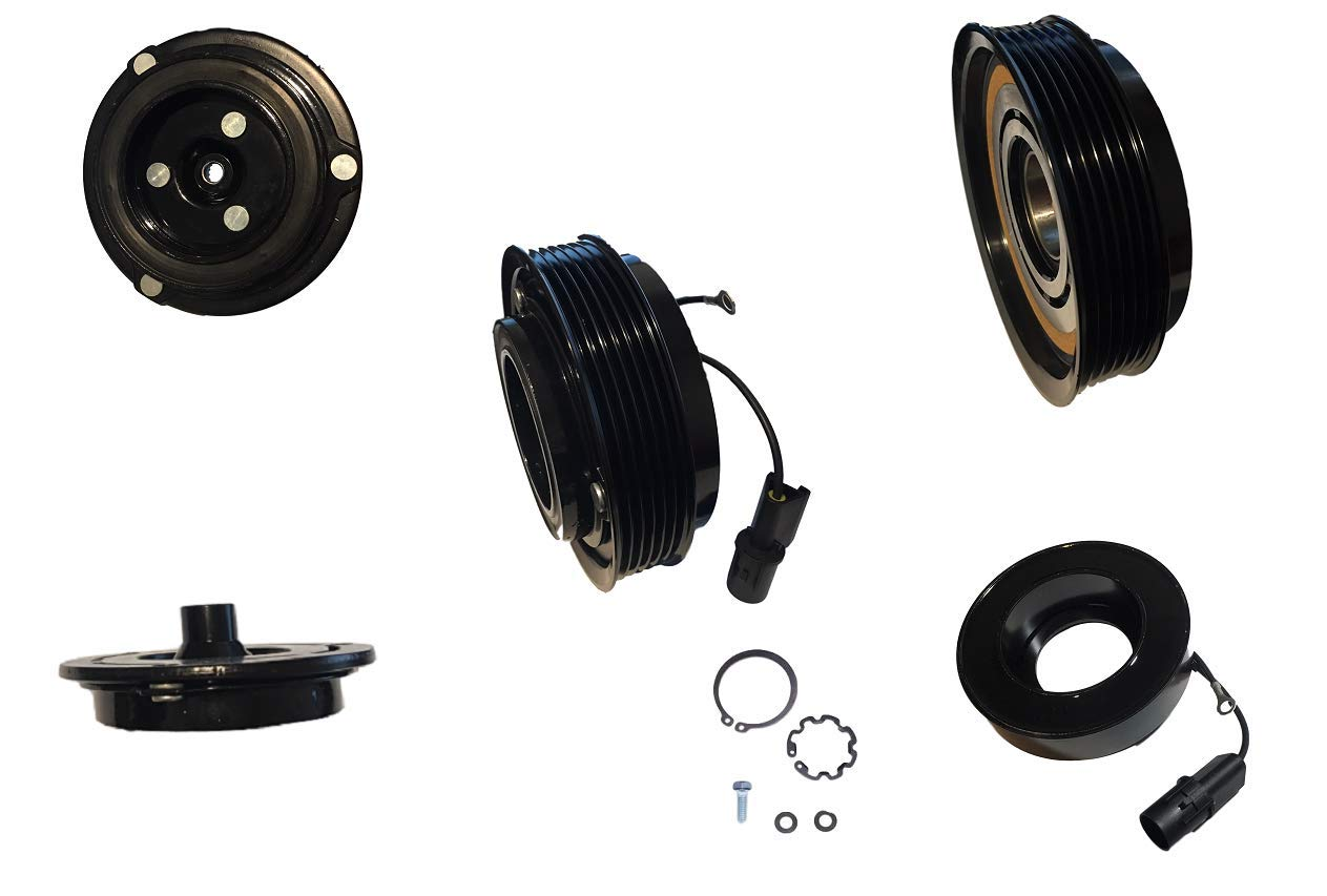 AC A//C COMPRESSOR CLUTCH KIT PULLEY COIL PLATE FITS: 2005 Tacoma 4 CYL 2.7L