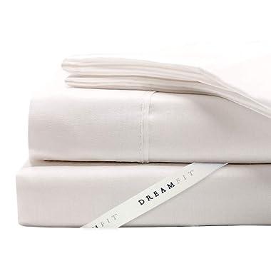 DreamFit 5-Degree Bamboo Rayon Blend Sheet Set King - White