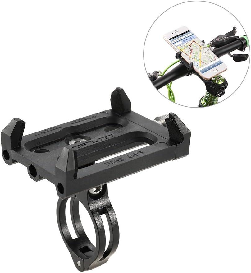 Comprar Lixada Antideslizante Bicicleta Soporte de Teléfono Ajustable Soporte de Montaje para 3.6-6.2 Inch Teléfono Móvil Inteligente (Soporte)