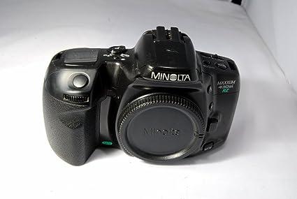amazon com minolta maxxum 430si rz 35mm slr auto focus film camera rh amazon com Minolta Maxxum 3Xi Minolta Maxxum 7Xi