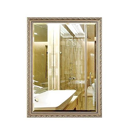 Mirror European Bathroom Bathroom Wall Dressing Wall Hanging
