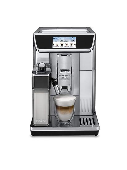 DeLonghi ECAM 650.75.MS Independiente Totalmente automática Plata - Cafetera (Independiente, Granos de