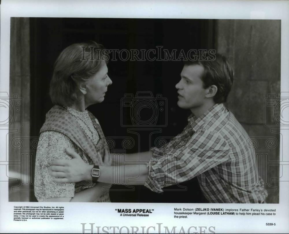 Amazon.com: Vintage Photos Historic Images 1984 Press Photo Zeljko Ivanek Louise Latham in Mass Appeal - cvp70100-8 x 10 in