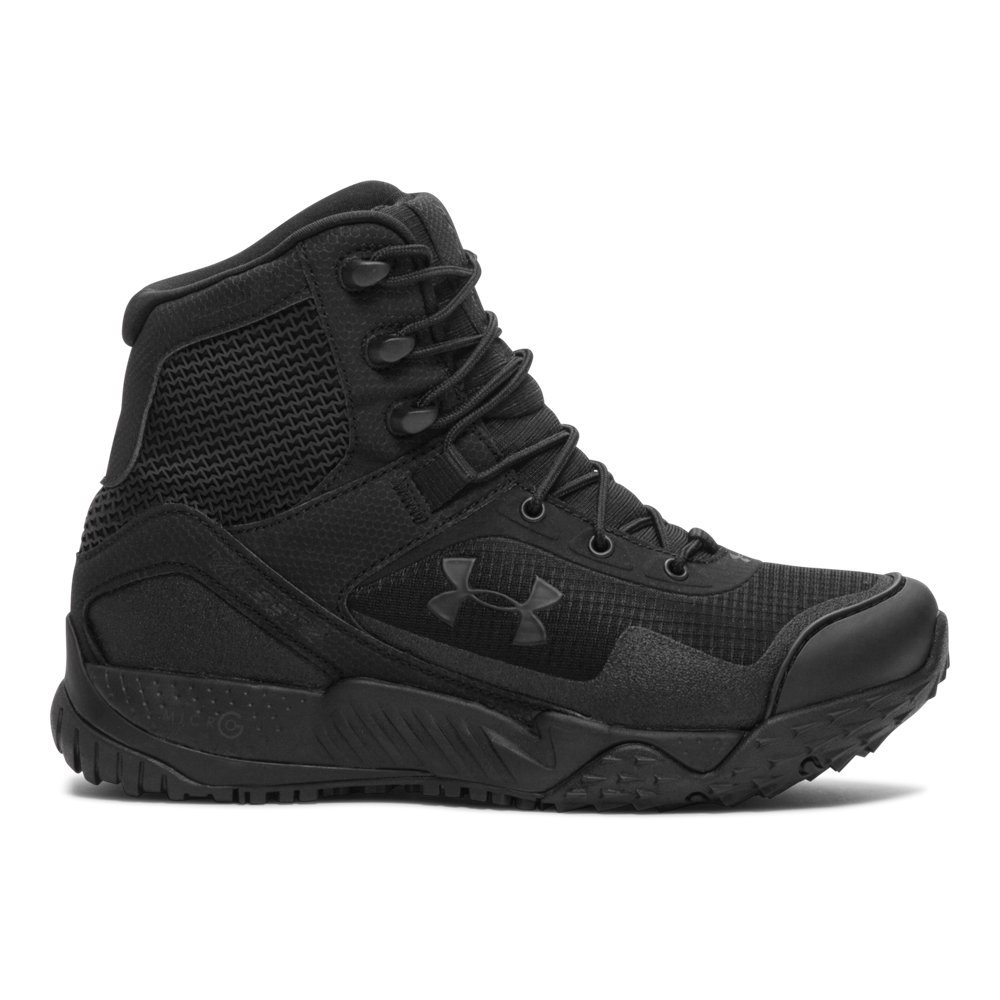 Under Armour Women's Valsetz RTS, Black/Black/Black, 8 B(M) US by Under Armour (Image #1)