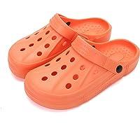 XIANV Men Women Clogs Garden Shoes Mesh Slippers Sandals Lightweight Slip On Mules Outdoor Walking Slippers Unisex…