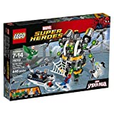 LEGO Super Heroes 76059 Spider-Man: Doc Ock's Tentacle Trap Building Kit (446-Piece)