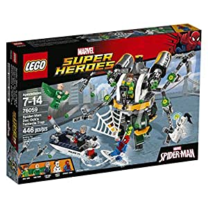 LEGO Super Heroes 76059 Spider-Man: Doc Ock's Tentacle Trap Building Kit (446 Piece)