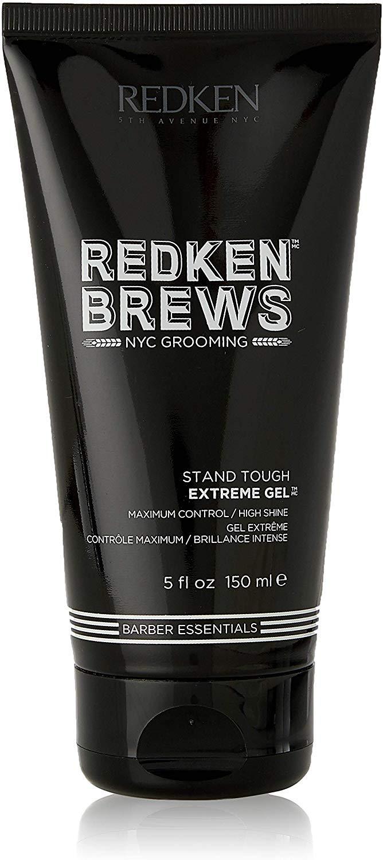 Redken Brews For Men Stand Tough Extreme Gel, 5 oz