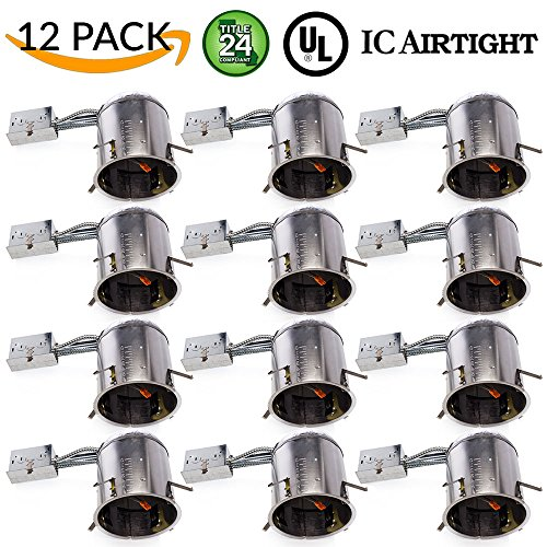 Sunco Lighting 12 PACK - 6