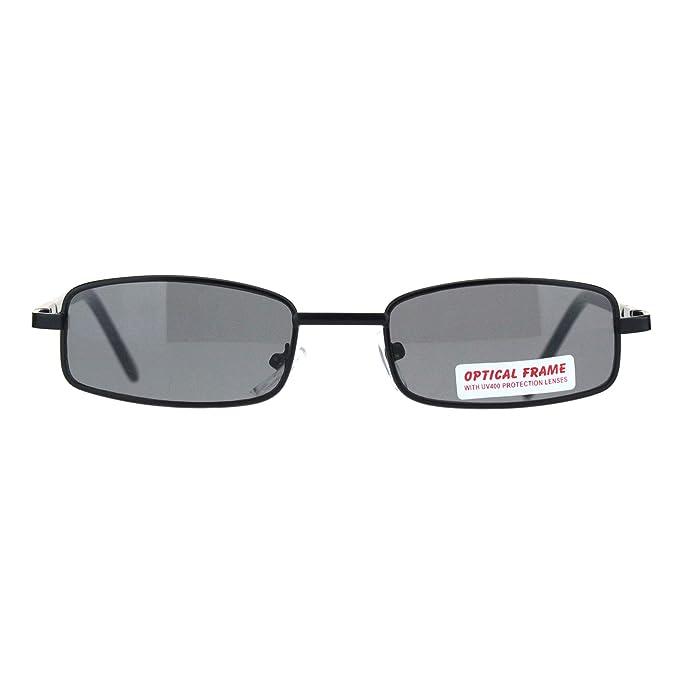 Amazon.com: SA106 - Gafas de sol rectangulares para hombre ...