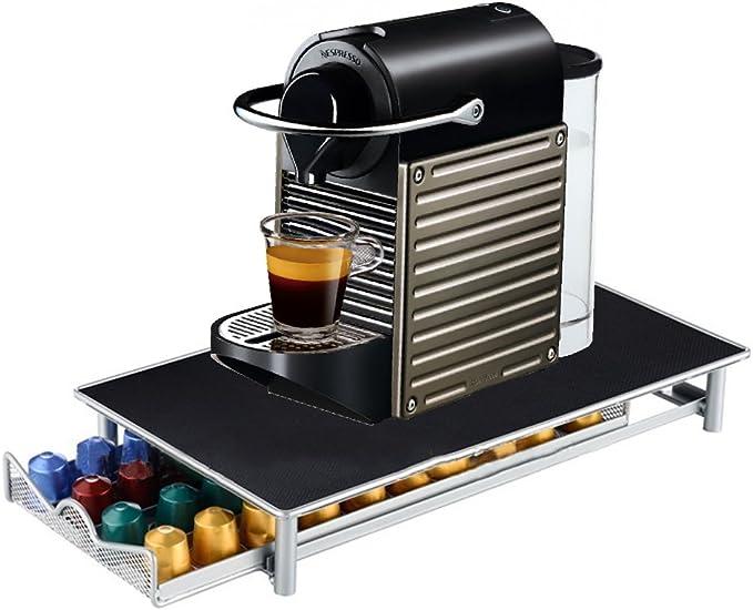 Screl – Expositor dispensador de cápsulas Nespresso tipo cajón de almacenamiento para 40 cápsulas: Amazon.es: Hogar