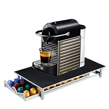 Screl - Expositor dispensador de cápsulas Nespresso tipo cajón de almacenamiento para 40 cápsulas: Amazon.es: Hogar