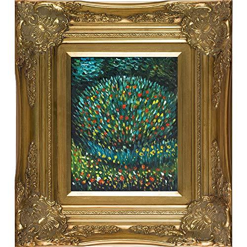 Landscape Paintings Klimt Gustav - overstockArt Apple Tree I Oil Painting with Victorian Gold Frame by Klimt, Gold Finish