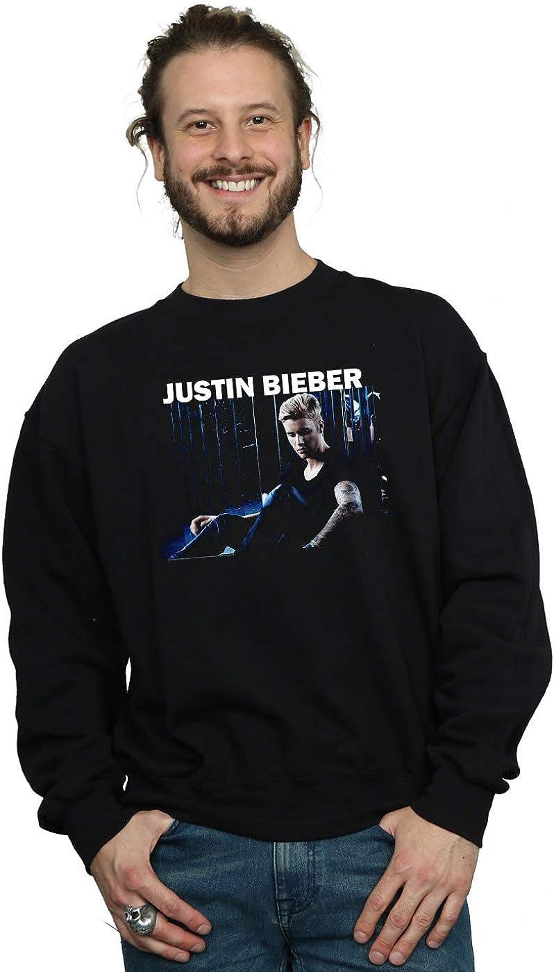 Absolute Cult Justin Bieber Hombre Sitting Shadows Camisa De ...