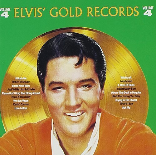 ELVIS GOLDEN RECORDS VOL.4 (+6) by BVG (Elvis Golden Records Vol 4)