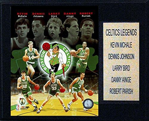 - NBA Boston Celtics Big 5 Legends Plaque, 12