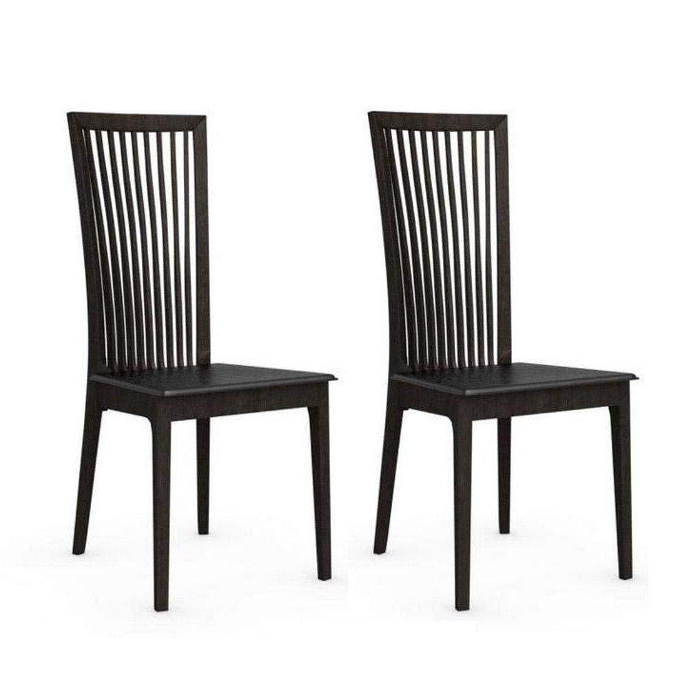 Inside - Juego de 2 sillas Italiana Philadelphia Estructura ...