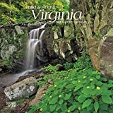 Virginia, Wild & Scenic 2019 7 x 7 Inch Monthly Mini Wall Calendar, USA United States of America Southeast State Nature