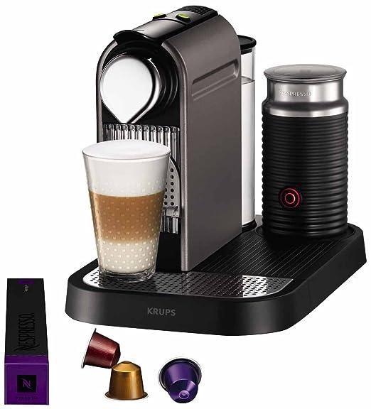 Krups YY1472FD Nespresso Citiz & Milk - Cafetera de monodosis con ...