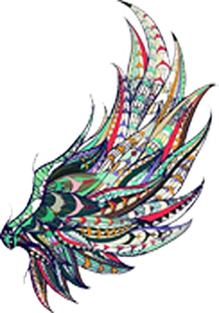 Feathers Cute Colorful Car Laptop Phone Vinyl Sticker SELECT SIZE