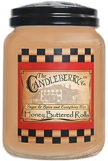 Candleberry Honey Buttered Rolls 26oz. Jar