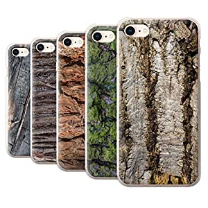 STUFF4 Phone Case / Cover for Apple iPhone 8 / Pack 14pcs / Tree Bark Collection