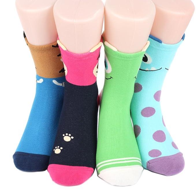 Disney Sneakers Women's Socks 4 pairs Made in Korea - Churros 05 qqrFo6