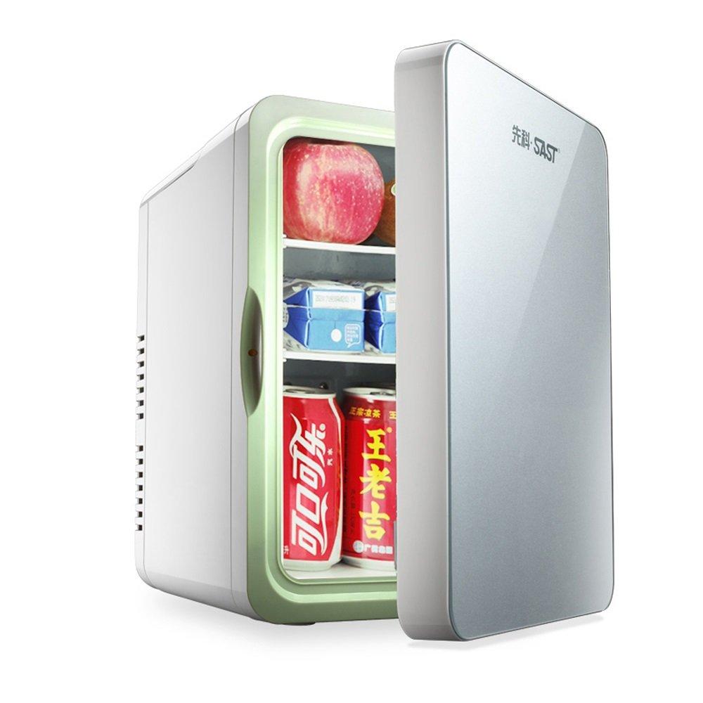 IKUN-JJ Mini Kühlschrank Tragbarer Auto-Kühlschrank 10L Kühler Wärmer Gefrierschrank 12V Mini Erwärmung und Kühlung Fahrzeug Kühlschrank Verwenden Sie Auch Im Home Office (Farbe : Blau)