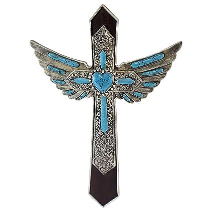 Pine Ridge Angel Wing Decorative Wall Cross