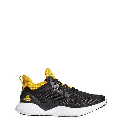 adidas Alphabounce Beyond NCAA Shoe - Men's Running 9.5 Core  Black/Collegiate Gold