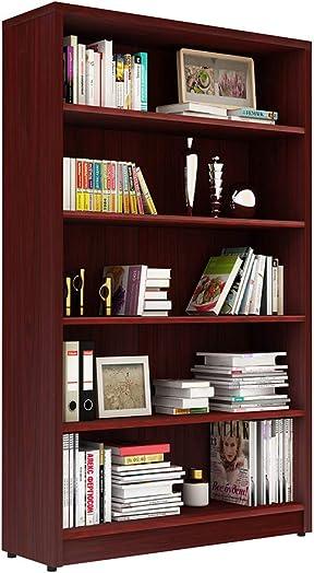 Deal of the week: Bookcase Wood Storage Bookshelf Open Shelf Bookcase Closed Back Shelves Book Case 5-Tier