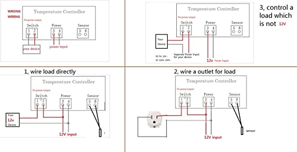 61 LbP6BdQL._SX608_ freezer thermostat wiring diagram wiring diagram simonand freezer wiring schematic at soozxer.org