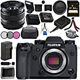 Fujifilm X-H1 Mirrorless Digital Camera (Body Only) 16568731 XF 14mm f/2.8 R Ultra Wide-Angle 16276481 Bundle
